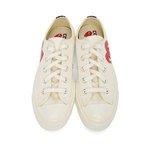Comme des Garcons x Play Converse sneakers shoes
